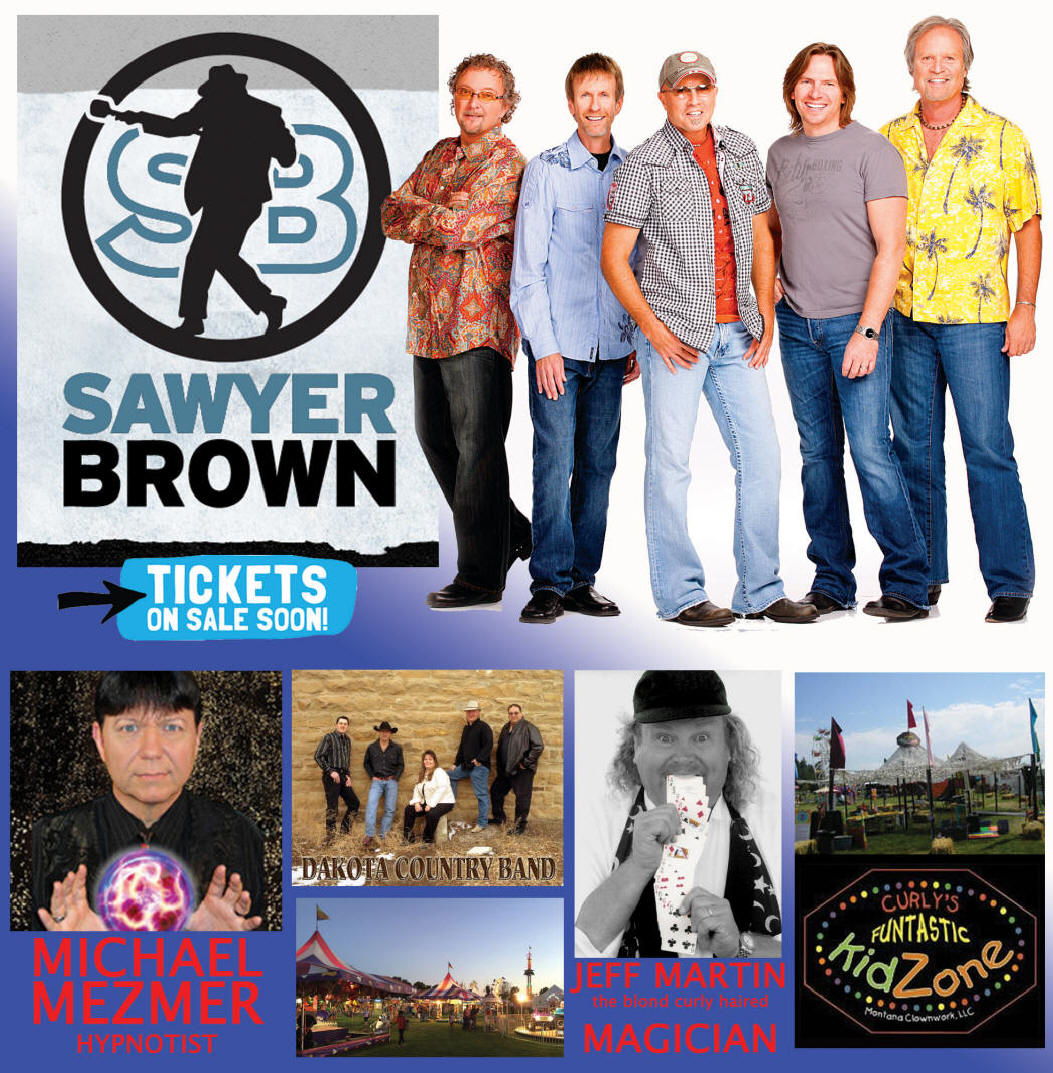 Front page - Sawyer Brown, free stage